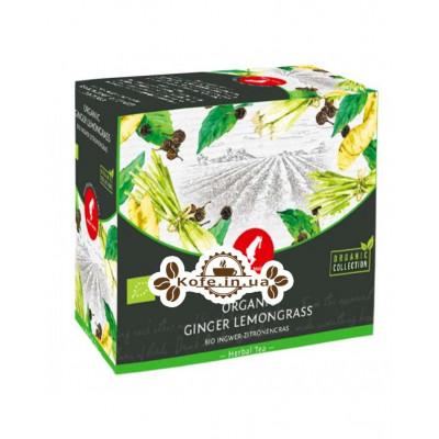 Чай Julius Meinl Bio Asian Spirit Ginger Lemongrass Душа Азії Імбир Лемонграс 20 x 3 г (9000403832582)