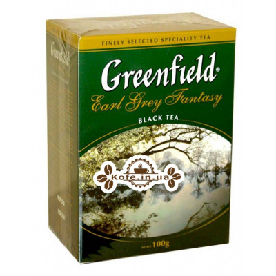 Чай Greenfield Earl Grey Fantasy Ерл Грей 100 г к / п (4823096801001)
