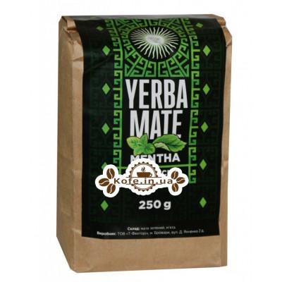 Мате Yerba Mate Mentha М'ята етнічний чай 250 г к / п
