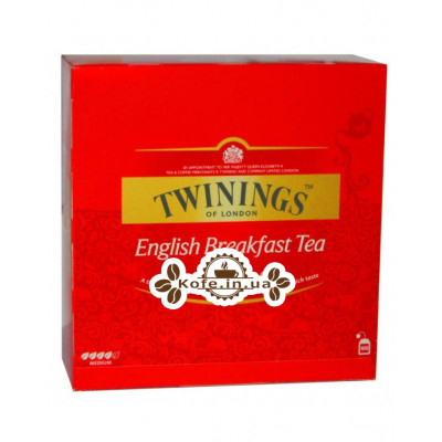 Чай TWININGS English Breakfast Англійська Сніданок 100 х 2 г (070177090340)