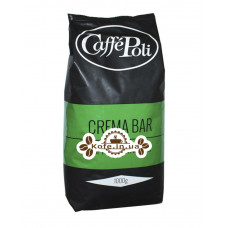 Кава Poli Crema Bar зернова 1 кг (8019650000348)