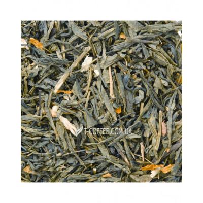 Цветущая Сакура зеленый ароматизированный чай Світ чаю