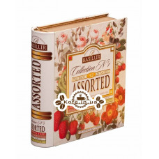Чай BASILUR Collection №1 Колекція №1 - Пакетована Книга 32 х 1,75 г