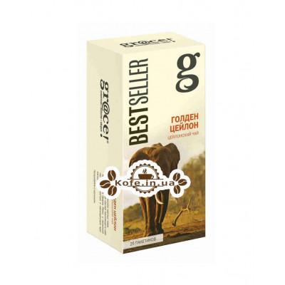 Чай GRACE! Golden Ceylon Голден Цейлон - Бестселлер 25 х 2 г (5060207692564)