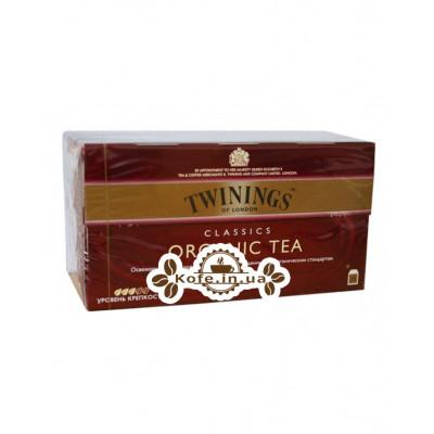 Чай TWININGS Classics ORGANIC TEA Чорний класичний Органік 25 х 2 г