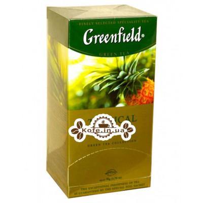 Чай Greenfield Tropical Marvel Ананас 25 х 2 г (4823096803937)