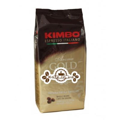 Кофе KIMBO Aroma Gold 100% Arabica зерновой 1 кг (8002200102180)