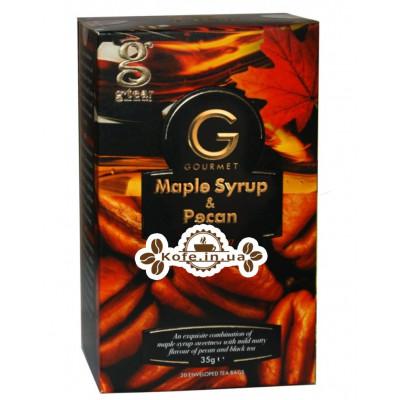 Чай GRACE! Gourmet Maple Syrup Pecan Кленовый Сироп Орех Пекан 20 х 1,75 г (5060207697316)