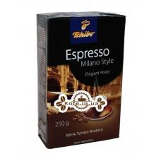 Кофе Tchibo Espresso Milano Style молотый 250 г