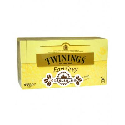Чай TWININGS Earl Grey Ерл Грей 25 х 2 г (070177077563)