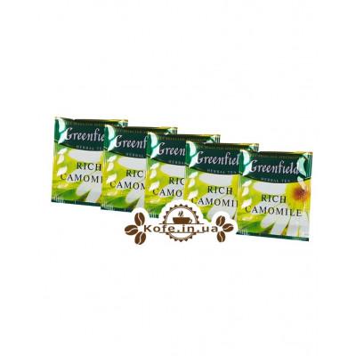 Чай Greenfield Rich Camomile Богатая Ромашка 100 х 1,5 г эконом. упаковка