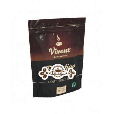 Кава Vivent Prestige розчинна 150 г економ. пак.