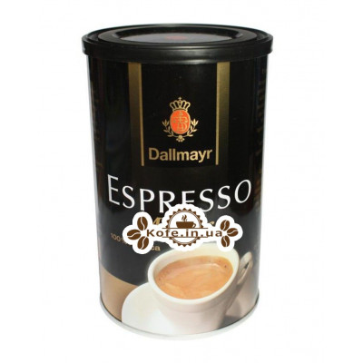 Кофе Dallmayr Espresso Monaco молотый 200 г ж/б (4008167165354)