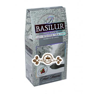 Чай BASILUR Winter Tea Зимовий - Пори Року 100 г к / п (4792252100398)