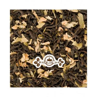 Липовый с Ароматом Меда черный ароматизированный чай Чайна Країна 100 г п/п