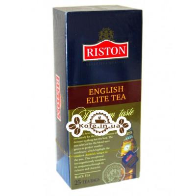 Чай Riston English Elite Елітний Англійська 25 х 2 г (4792156000435)
