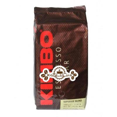 Кофе KIMBO Espresso Bar Superior Blend зерновой 1 кг (8002200140021)