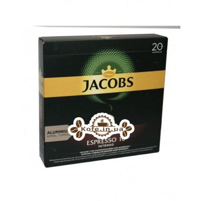 Кава Jacobs Espresso Intenso 10 в капсулах 20 х 5,2 г (8711000371190)