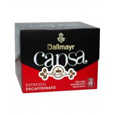 Кофе Dallmayr Nespresso Capsa Espresso Decaffeinato в капсулах 10 х 5,6 г (4008167010807)