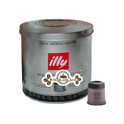 Кофе illy IperEspresso в капсулах темной обжарки 21 х 6,7 г (8003753919782)