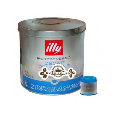 Кава illy IperEspresso в капсулах без кофеїну 21 х 6,7 г (8003753919799)