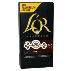 Кава L'OR Nespresso Espresso Forza в капсулах 10 х 5,2 г (8711000357934)