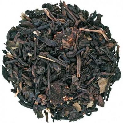 Шу Пу-Ер з полуницею Преміум (чай Пу-Ер) 100 г.