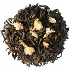 Шу Пу-Ер з квітами жасмину (чай Пу-Ер) 100 г.
