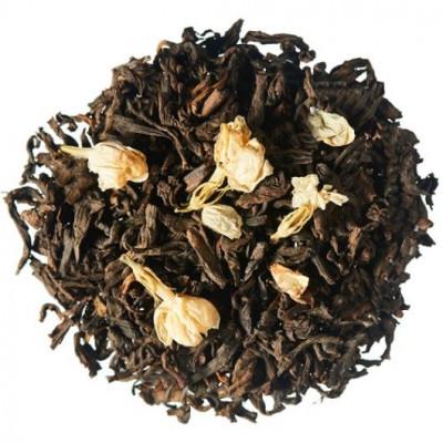 Шу Пу-эр с цветами жасмина (чай Пу-эр) 100 г.