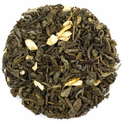 Зеленая улитка с жасмином (чай зеленый) 100 г.