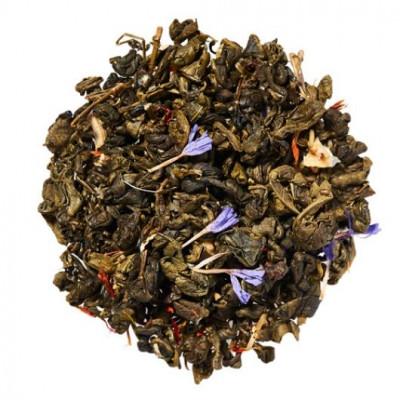 Зеленая улитка с кардамоном (чай зеленый) 100 г.