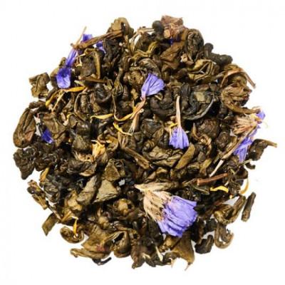 Зелений равлик ягідний (чай зелений) 100 г.
