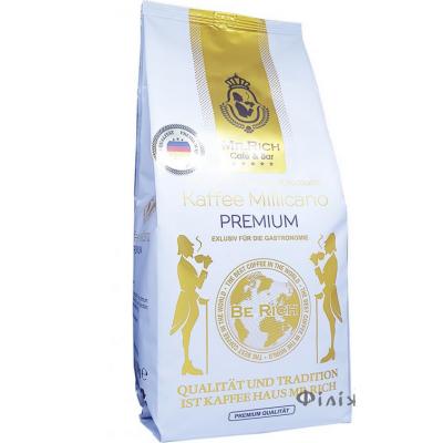 Кава розчинна з додаванням меленої - Мр. Річ кава мілікано преміум 500 г