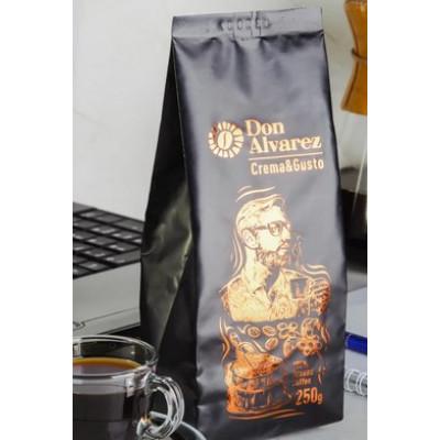 Дон Альварес Крема Густо (мелена кава) 250 г
