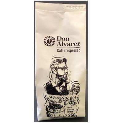 Don Alvarez Caffe Espresso (молотый кофе) 250 г