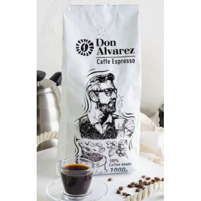 Don Alvarez Caffe Espresso (зерновой кофе) 1000 г