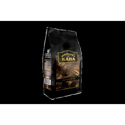 Espresso De Lux (суміш арабіки в зернах) 500 г