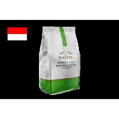 Кава Арабіка з Індонезії Сулавесі (зернова кава) 500 г