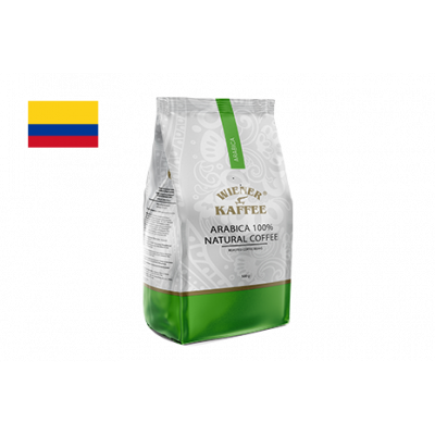 Кава Арабіка Колумбія, без кофеїну (кава в зернах) 500 г