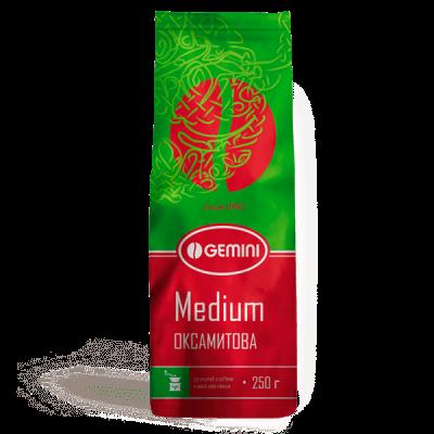 Кава Gemini мелена Medium (Джеміні Медіум)