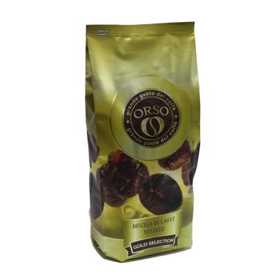 Кава ORSO Gold selection зернова 1 кг