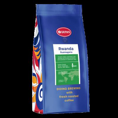 Кава Rwanda Ruamagana моносорт (Джеміні Рванда Румагана)