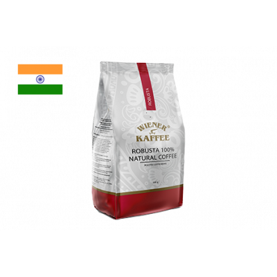 Кофе робуста - Индия Черри, (в зерне) 500 г