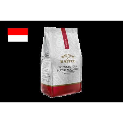 Кава робуста з Індонезії (в зерні) 500 г