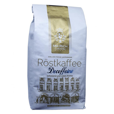 Кава в зернах - Мр. річ без кофеїну 500 г